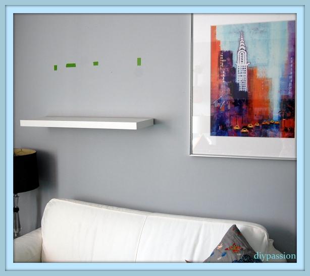 small wooden shelves plans