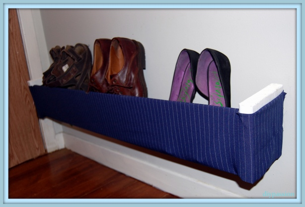 making a shoe rack