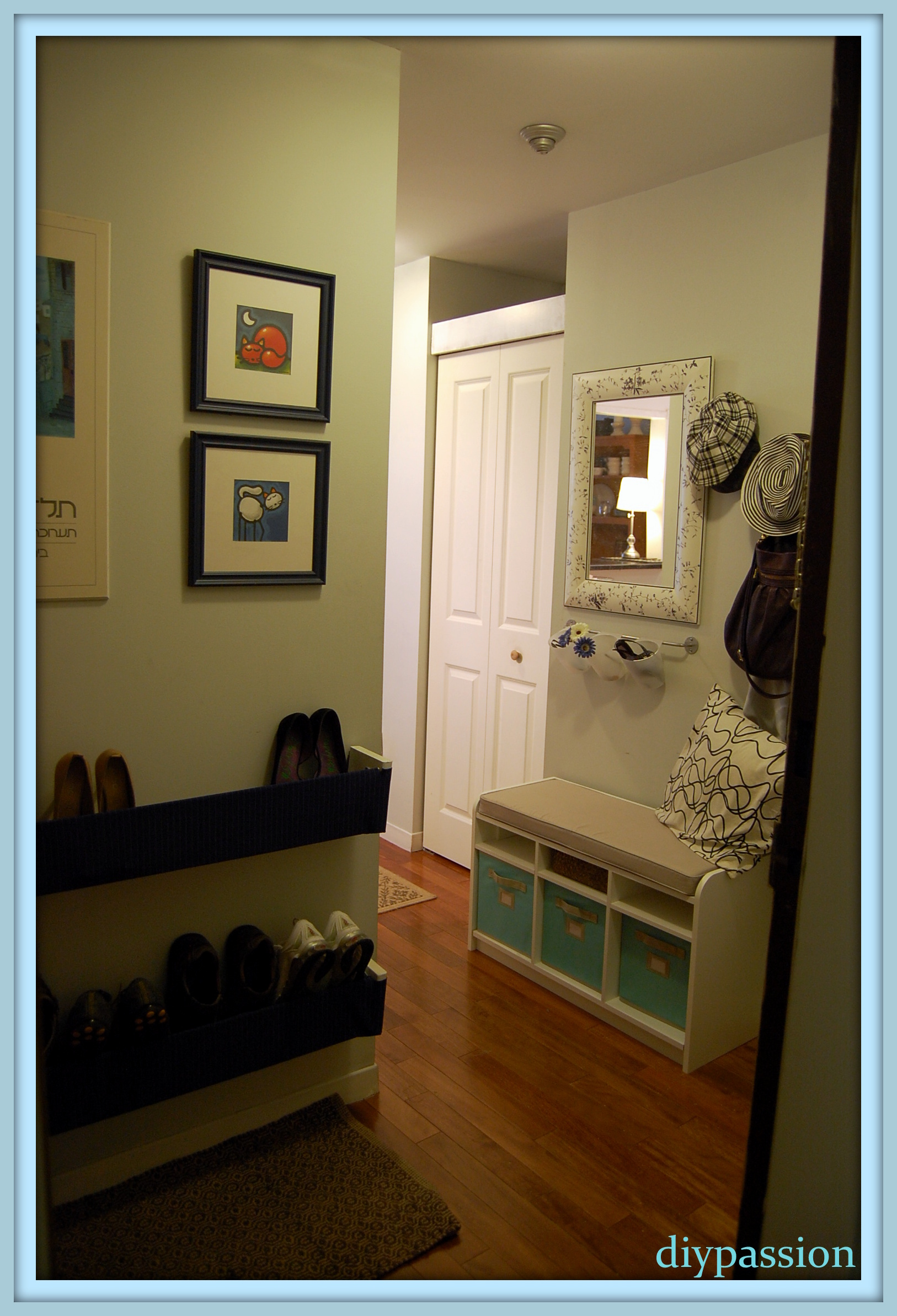 Diy Easy Pallet Shoe Rack Diy Shoe Rack By Front Door Escletxa