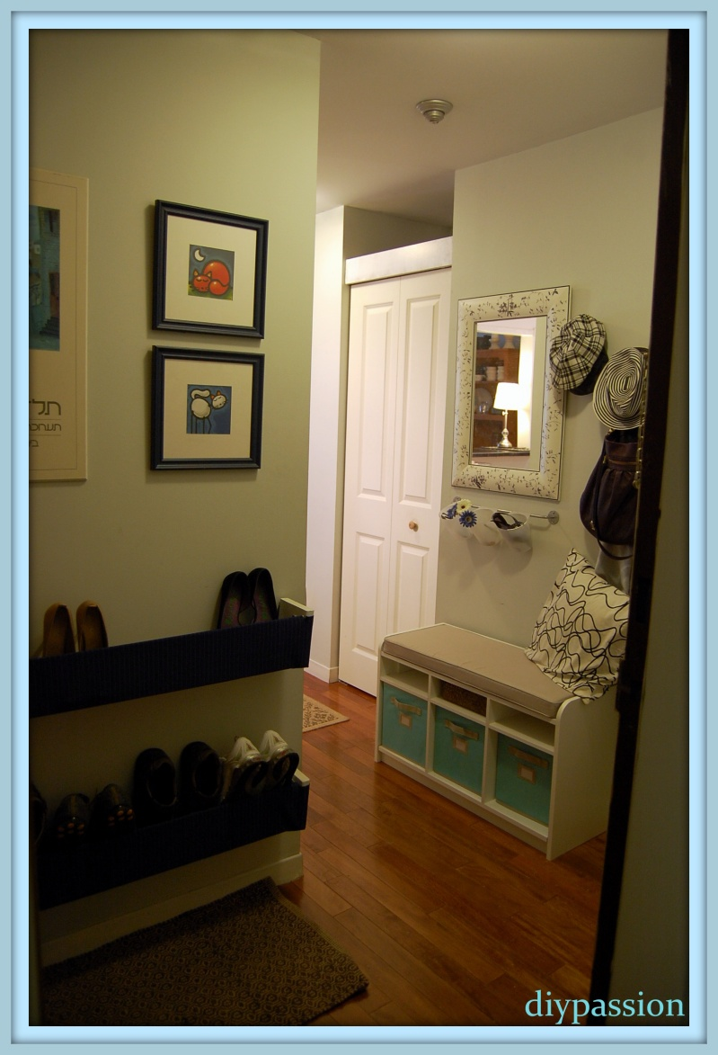 shoe rack door design