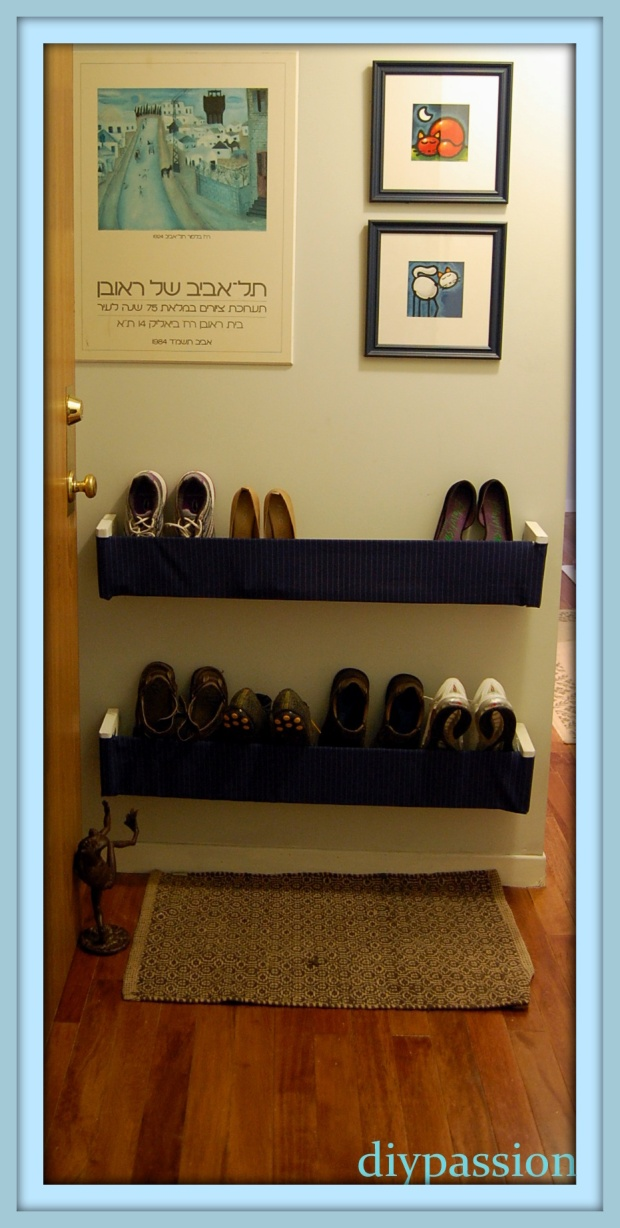 shoe rack project plans