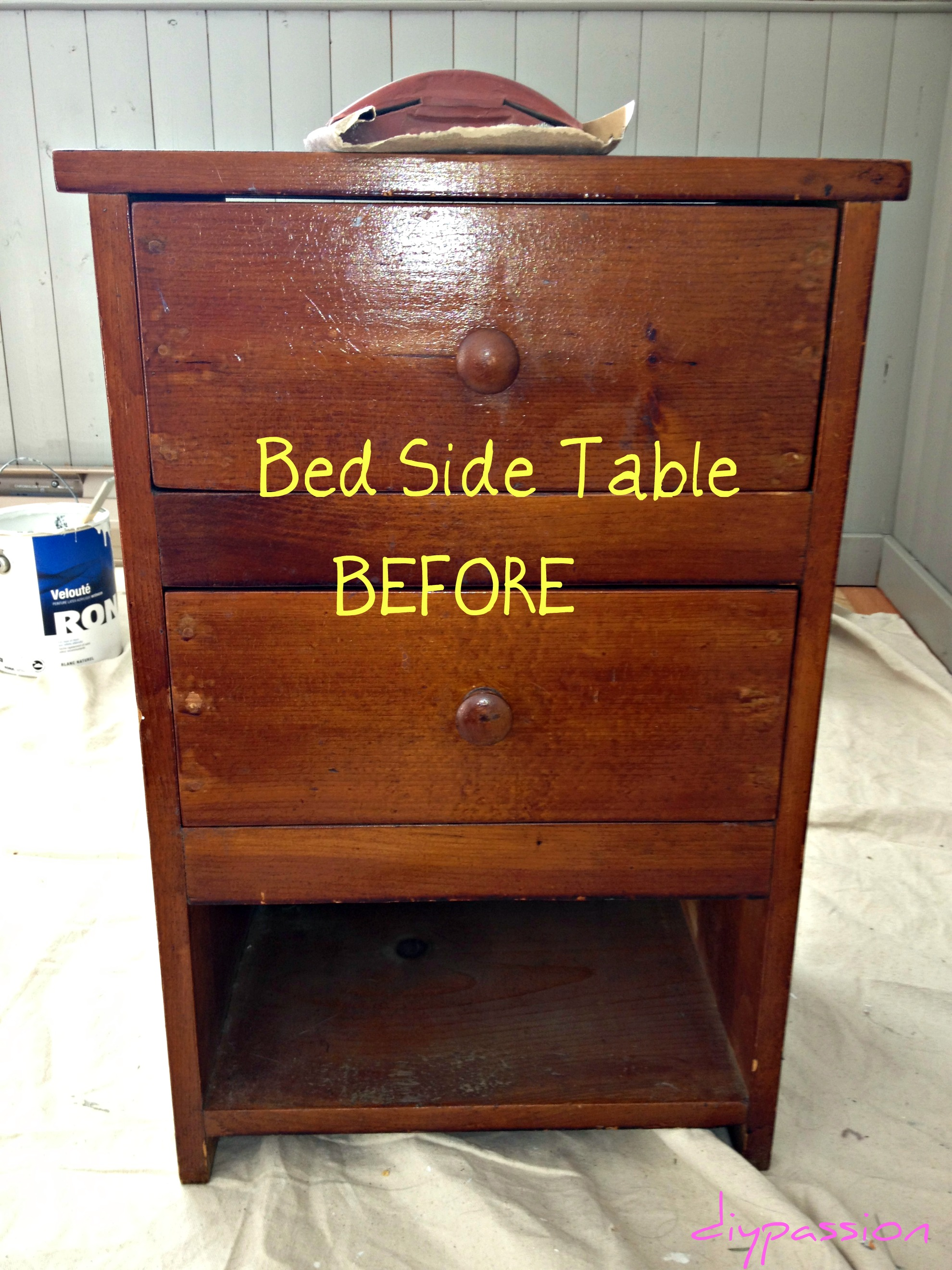 Bedside Table Ideas Diy