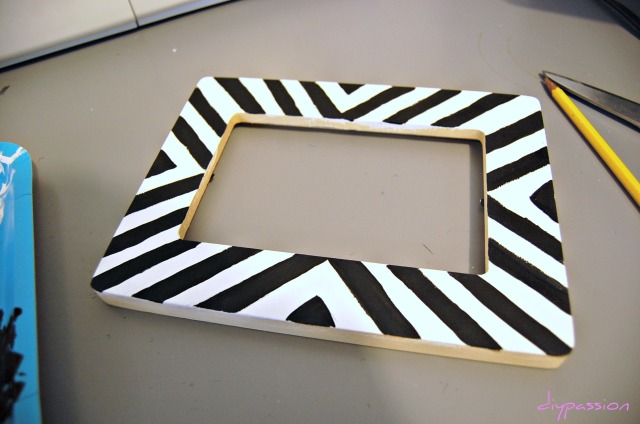 Striped Frame 1