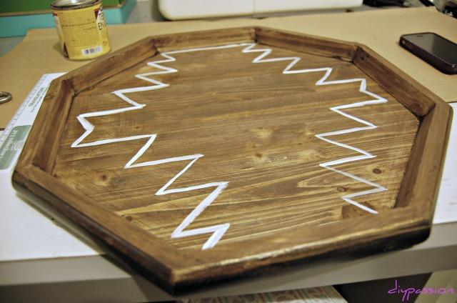 Hexagon Tray 7