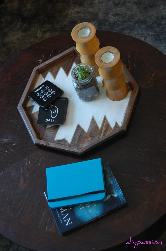 Hexagon Tray 9