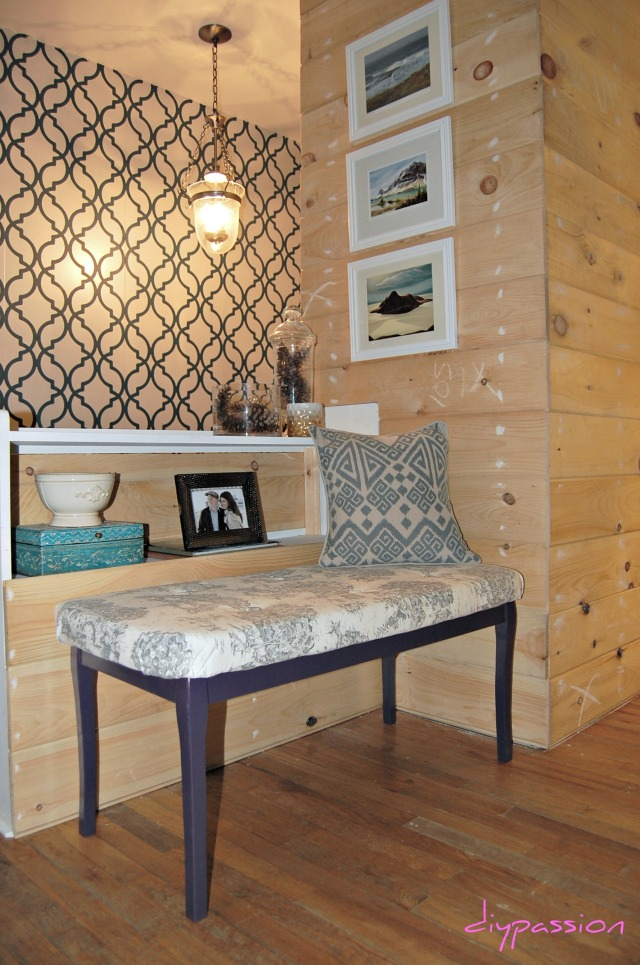 Tufted Bench 18