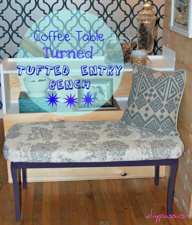 Tufted Bench 19