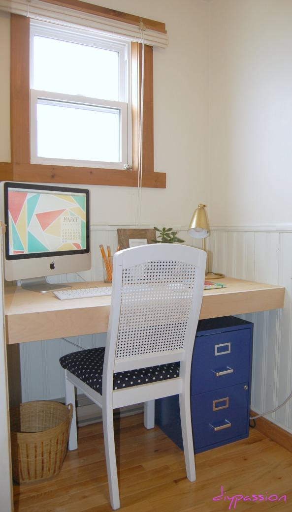 Diy Simple Built In Desk Plans Pdf Download Building A